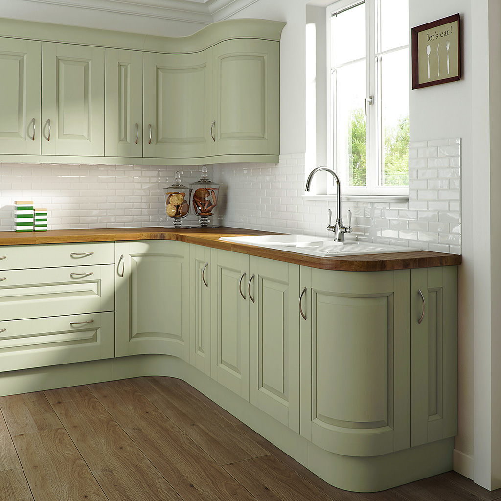 Edwardian Painted Green