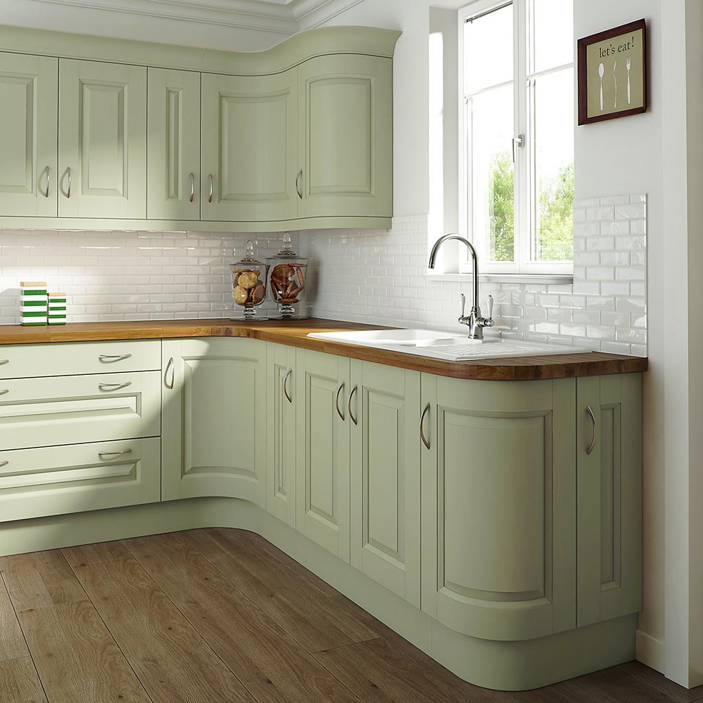 Edwardian Painted Green