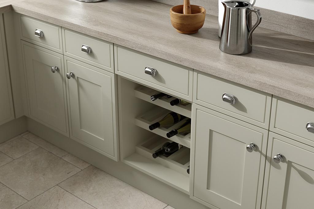 Elegant Painted Sage Grey