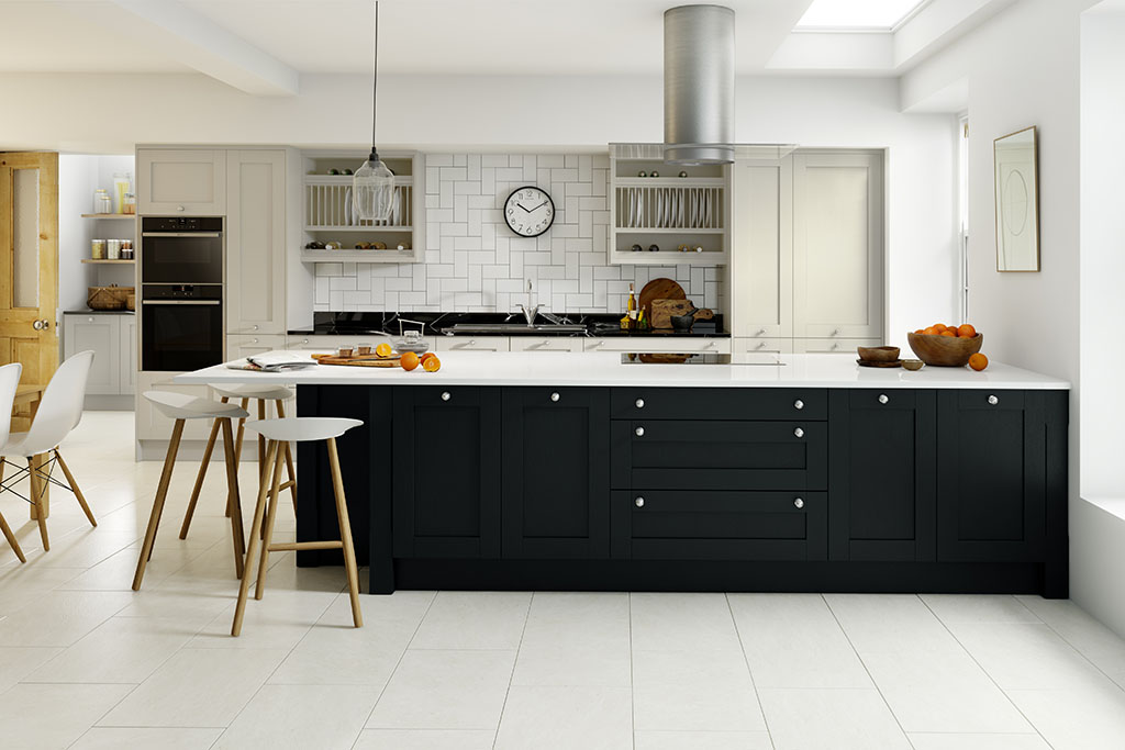 Shaker Classic Painted Limestone & Anthracite